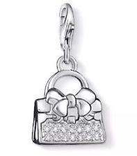 Thomas Sabo Bow Cubic Zirconia Handbag Charm
