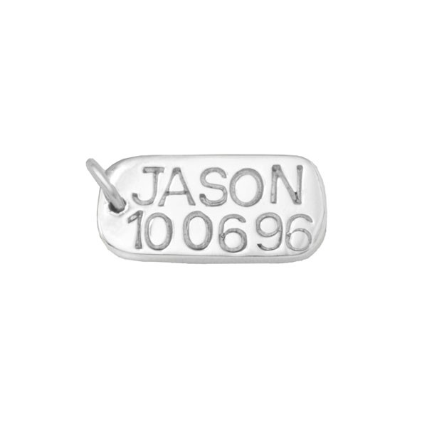 Dog Tag / Identity Pendant - Mini
