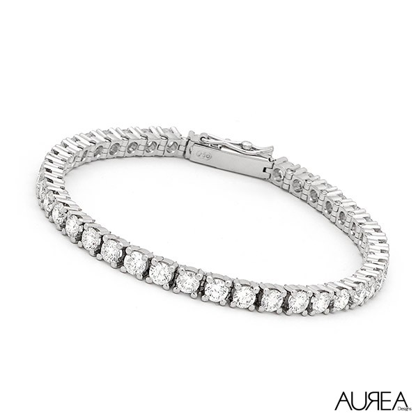 Claw Set Diamond Bracelet