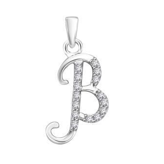 Diamond fancy letter 'B'