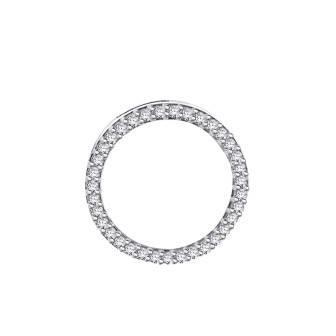 Circle of Life diamond pendant - slider