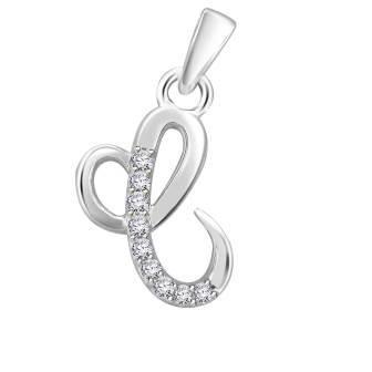 Diamond fancy letter 'C'