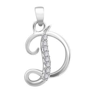 Hand crafted fine jewellery sydney diamond fancy letter d initials diamond fancy letter d altavistaventures Image collections