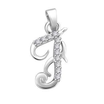 Diamond fancy letter 'F'