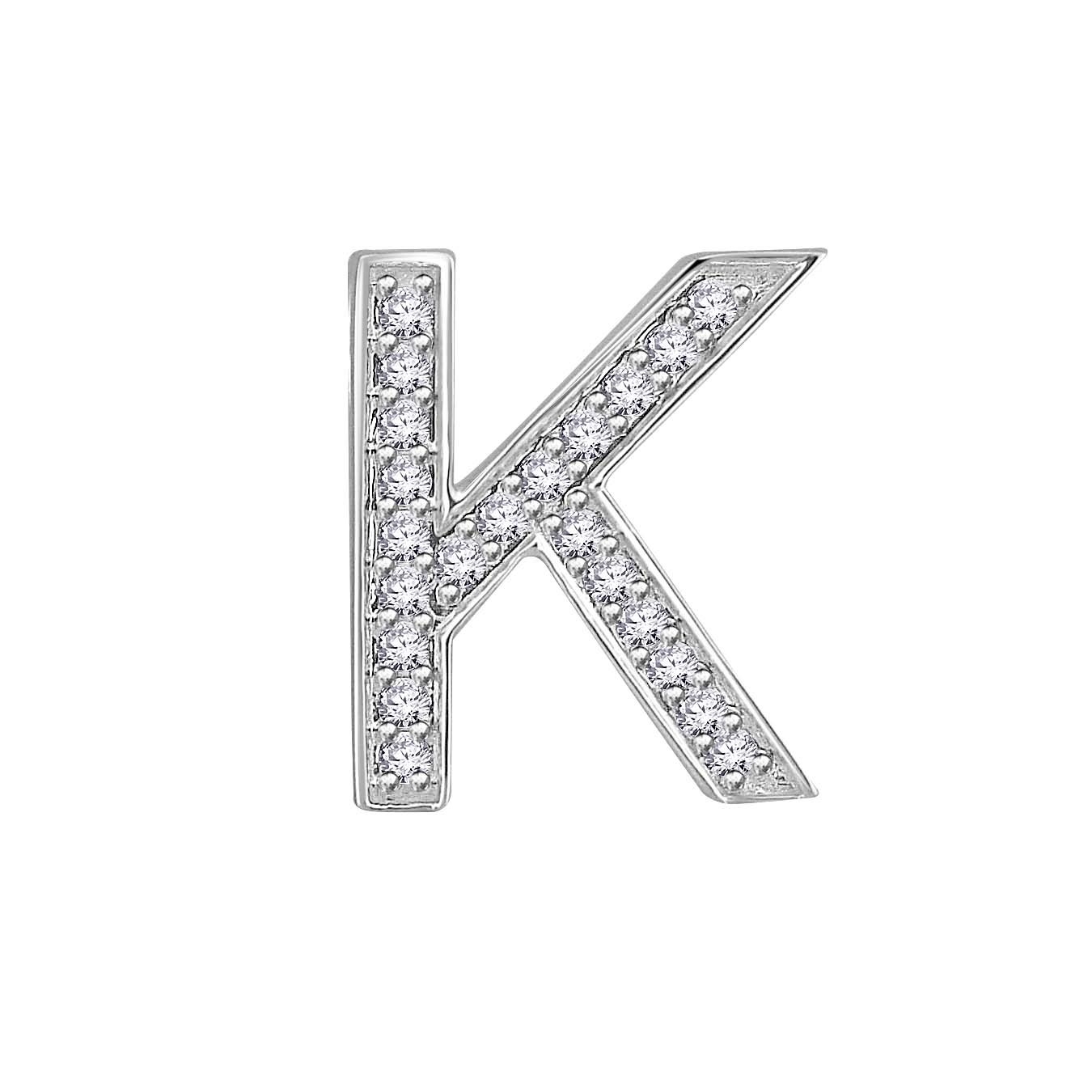 Letter In Diamon...K Letter In Diamond