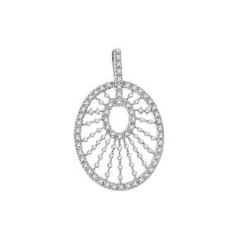 Rays of Light Diamond Pendant