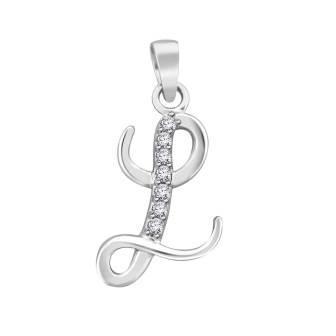 Diamond fancy letter 'L'