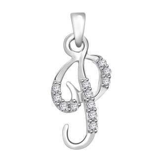 Diamond fancy letter 'P'