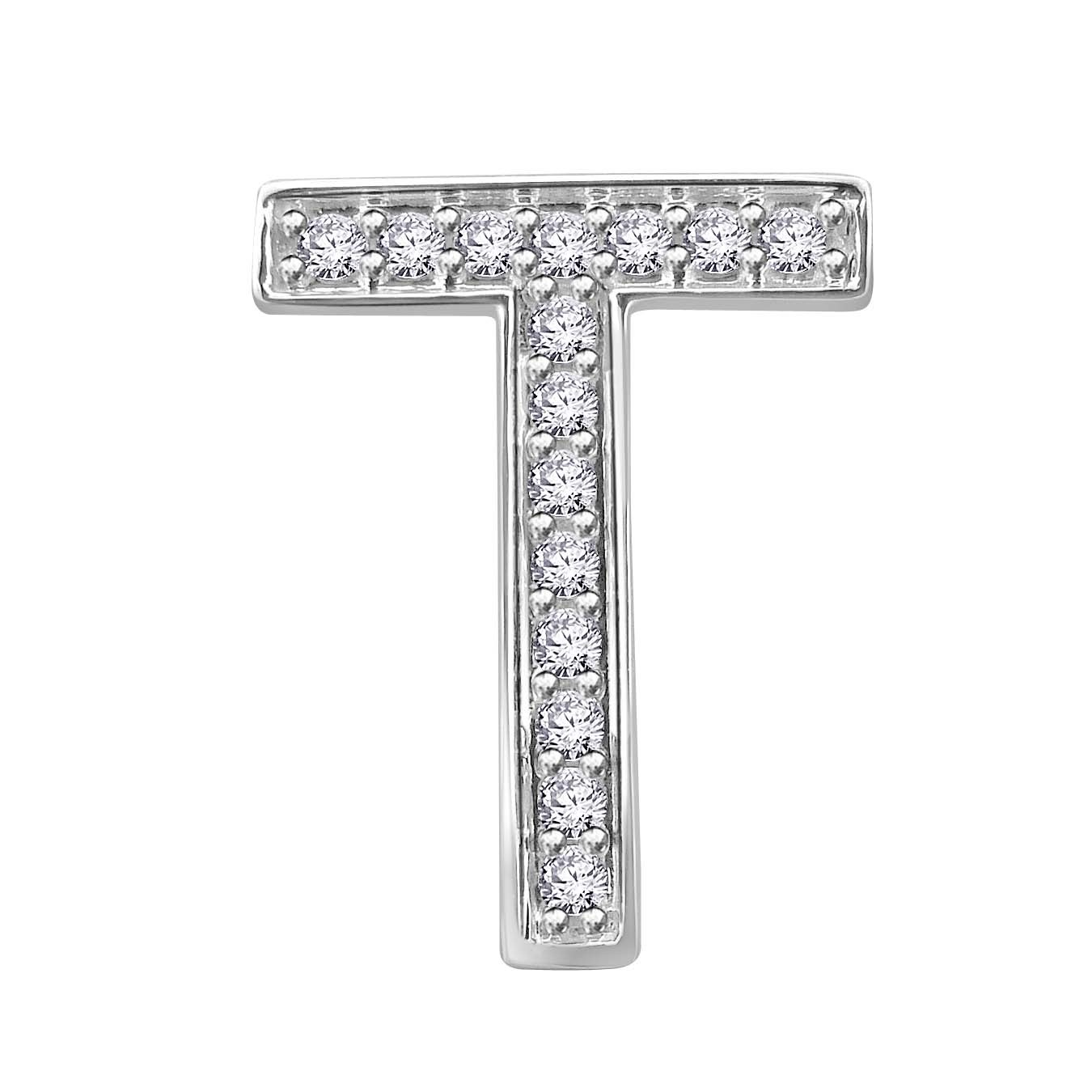Hand Crafted Fine Jewellery Sydney Diamond letter 'T ...
