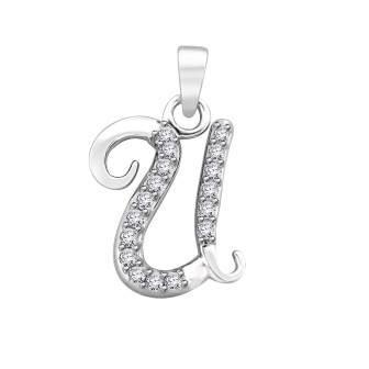 Diamond fancy letter 'U'