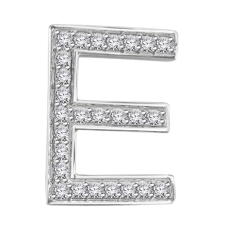 Letter E In Diamonds H...