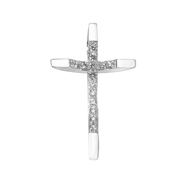 Arched Diamond Cross