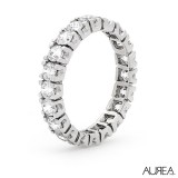 Claw Set Diamond Eternity Ring