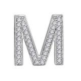 Diamond letter 'M'